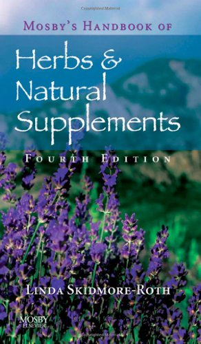Mosby'S Handbook Of Herbs & Natural Supplements, 4E