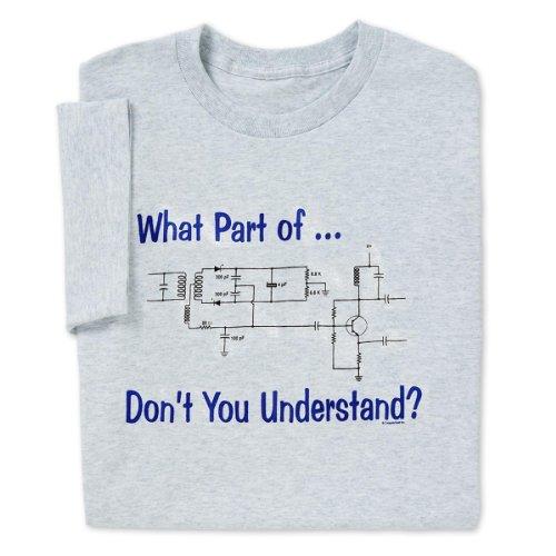What Part Of Circuit? T-Shirt, Medium
