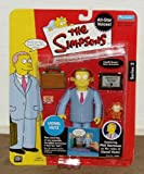 LIONEL HUTZ The Simpsons All-Star Voices * PHIL HARTMAN * Series 2 World Of Springfield Interactive Action Figure