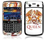 MusicSkins Queen - Crest Red Skin for BlackBerry Bold 9700
