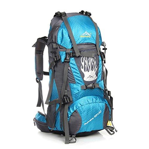 Grand sac de capacité / alpinisme sac à dos / extérieur sac de sport / sac de Voyage-bleu ciel 60L