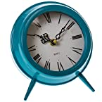 Metal Blue Clock