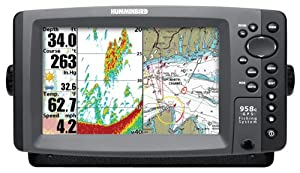 Humminbird 958c Combo 8-Inch Waterproof Marine GPS and Chartplotter with Sounder by Humminbird