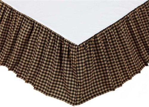 Farmhouse Star Queen Bed Skirt