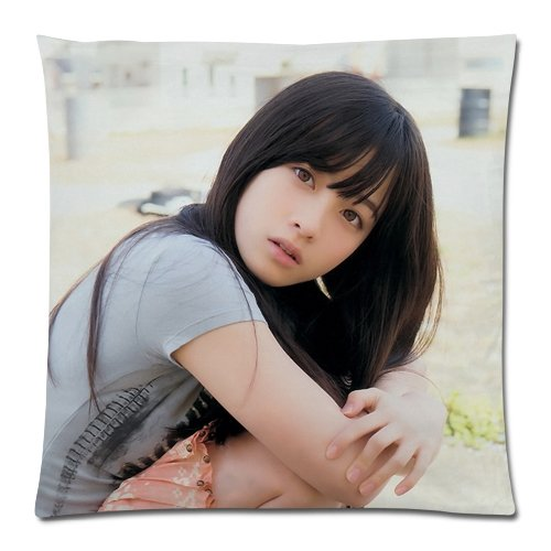 枕カバー 抱き枕カバー  ファスナータイプ  オーダーメイド プレゼント ピロケース  (45×45cm) 両面 クッションカバー 橋本還奈 はしもとかんな  橋本還奈 グッズ Kanna Hashimoto