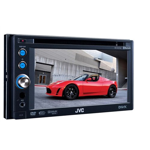 Jvc Kwadv794 Bluetooth 6.1-Inch Touch Dvd-Cd-Usb Receiver