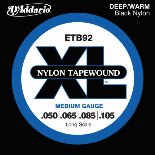 D'Addario ETB92 Tapewound Bass Guitar Strings,