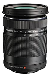 Olympus M. 40-150mm F4.0-5.6 R Zoom Lens (Black) for Olympus and Panasonic Micro 4/3 Cameras