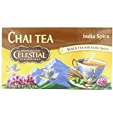 Celestial Seasonings Chai Tea, India Spice, 20-Count Tea Bags (Pack of 6)