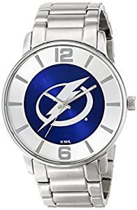 Buy Game Time Mens NHL All Pro Slim Case Watch - Tampa Bay Lightning by Game Time