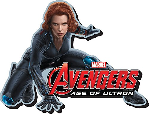 Aquarius Avengers 2 Black Widow Funky Chunky Magnet