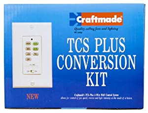 Craftmade CV52AB Hand-Held Remote Total Control System Upgrade Kit, Antique Brass