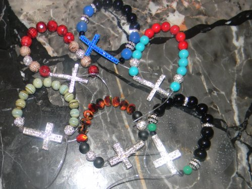 Custom Made Spiritual Honesty Swaroski Crystal Bracelets