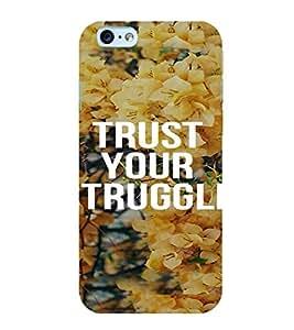 PrintVisa Motivational Quotes Design 3D Hard Polycarbonate Designer Back Case Cover for Apple iPhone 6S
