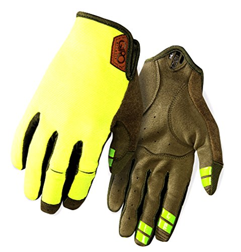 Giro Guanti Estivi DND Down and Dirty, Bright Lime Mountain Division (L)