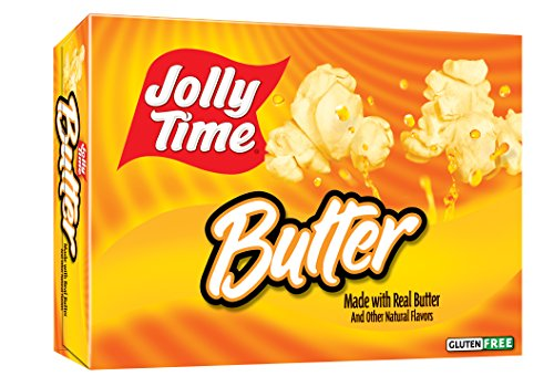 Jolly Time Butter Microwave Popcorn made with Smart Balance, 3-Count Boxes (Pack of 12) (Smart Balance Popcorn compare prices)