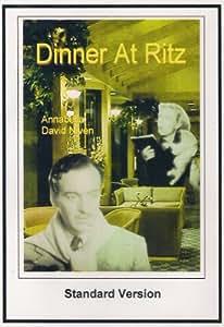 Dinner at Ritz 1937