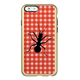 Creepy Crawly Marching Black Ant Plaid Tablecloth Incipio NEW Style Apple IPhone 6p/6s Plus Case