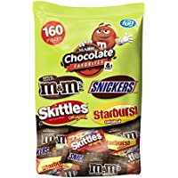 160-Count MARS Chocolate and More Favorites Halloween Candy Variety Mix
