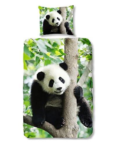 Good Morning Parure Copripiumino Panda [Multicolore]
