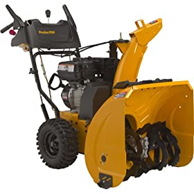 Poulan Pro PR6R24ES 24-Inch 208cc LCT Gas Powered Two-Stage Snow Thrower With Electric Start 961920037