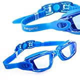 Aegend™ Adult/Youth Swim Goggles with Case(Blue)
