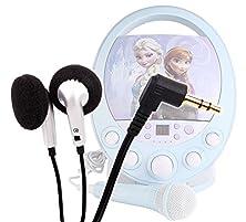 buy Duragadget Comfortable & Stylish In-Ear Design Earphones For The New Disney Frozen Cdg Karaoke Machine