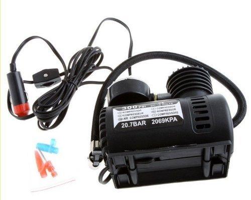 Tinypony 12V Car Auto Electric Pump Air Compressor Portable Tire Inflator 300Psi K590