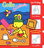 echange, troc Collectif - Tim à la plage colle et colorie