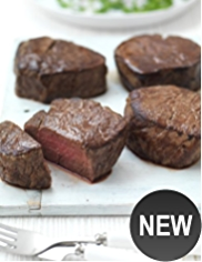 4 Aberdeen Angus Thick Cut Fillet Steaks