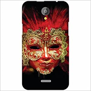 XOLO Omega 5.5 Back Cover - Silicon Mask Designer Cases