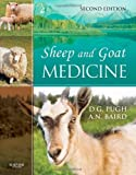 img - for Sheep and Goat Medicine, 2e 2nd Edition by Pugh DVM MS, D. G., Baird DVM<br>MS<br>DACVS, N. (Nickie) (2011) Hardcover book / textbook / text book