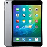 Apple iPad mini 4 128GB Factory Unlocked Space Gray (Wi-Fi + Cellular 4G LTE, Apple SIM) Newest Version (Color: Space Gray)