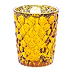 Gold Mercury Glass Tealight Holder