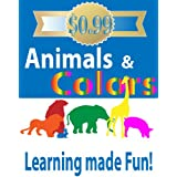 Animals & Colors: Learning colors with fun animal shapes