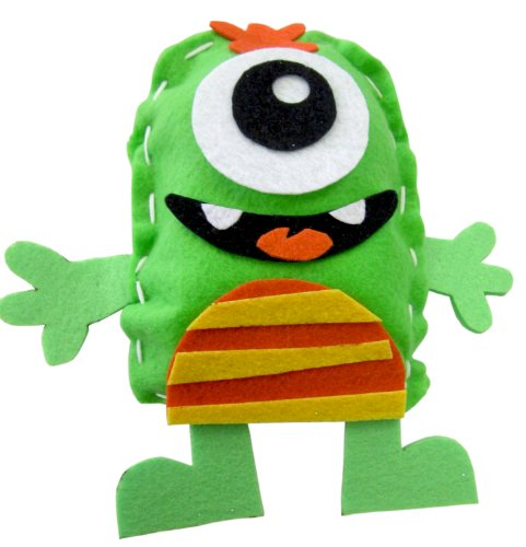MONSTER CAMP: Stitch A Monster Pillow Kit - 1