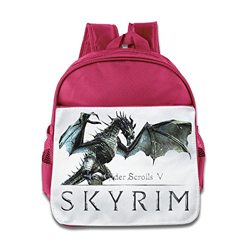 NUBIA Elder Scrolls V Skyrim Children Pre School Schoolbag Pink