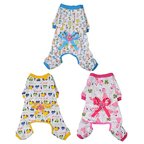 WIDEN-Pet-Dog-Clothes-Pajamas-Coat-Jumpsuit3color-4-sizes