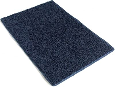 Indoor Area Rug - Super Hero Blue 37oz - plush textured carpet for residential or commercial use with Premium BOUND Polyester Edges.