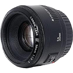 Canon EF 50mm f/1.8 II Camera Lens