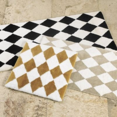Ballard designs harlequin bath rug gold large for Ballard designs bathroom rugs