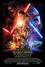 Star Wars Episode VII Force Awakens (2015) Movie Poster 24x36 inches