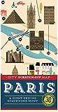 Christina Henry de Tessan City Scratch-Off Map: Paris: A Sight-Seeing Scavenger Hunt