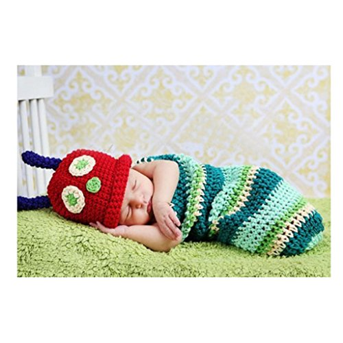 Jelinda Baby Infant Crochet Beanie Hat Clothes Handmade for 0-3 Month