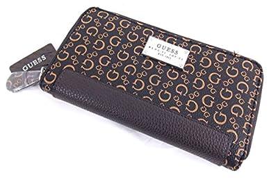 Guess - Portefeuille porte-monnaie femme - cuir synthétique marron - S6596599