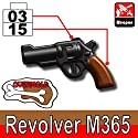 M365 Overmolded Pistol 3 Pack - Custom LEGO Minifigure Pieces