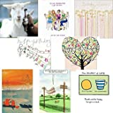Greeting cards collection. Smile 1 - 8 contemporary and humorous cards. Premium quality birthday cards.by Woodmansterne,...