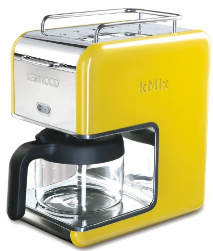 Kenwood kMix Boutique CM028 Filter Coffee Maker, Bright Yellow