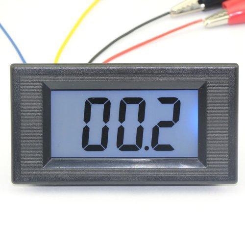 Riorand Ac/Dc 3 2/1 Digital Ohmmeter Reading 20K Ohms Test Lcd Display High Resistance Meters