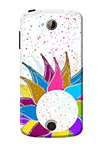 Kanvas Cases Premium Quality Printed 3D Lightweight Slim Matte Finish Hard Case Back Cover For Acer Liquid Z530 With Free Earphone Cable Organizer